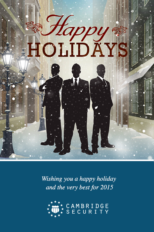 Cambridge Security 2014 Holiday Message