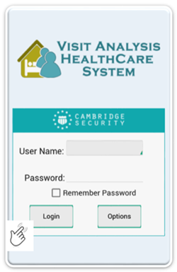 Visit Analysis Healthcare System App by Cambridge Security