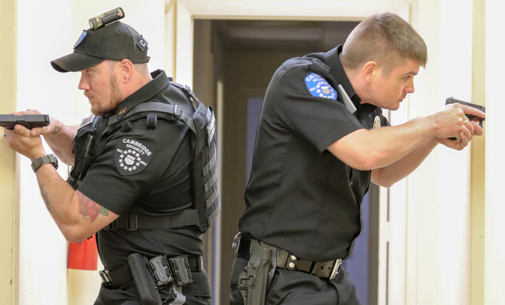 School Security Officers Receive Training Led By Swat Team