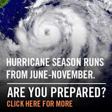 Prepare for hurricane season