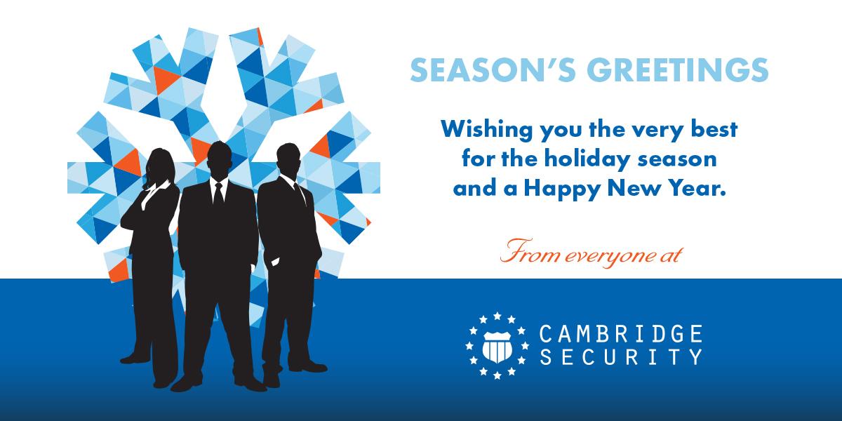 Cambridge Security - Happy Holidays 2017